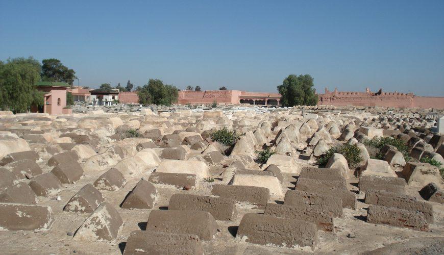 Cementeio judío en Marrakech